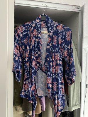 Hollister Bluzka kimono Wielokolorowy