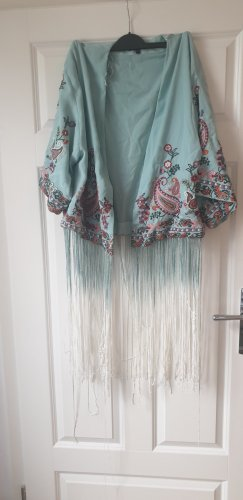 Kimono Jacke mit Fransen