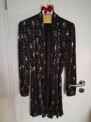 Kimono nero-oro