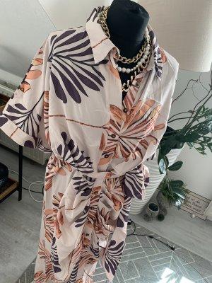 Kimono Kleid Neu Gr. 40-42 Nude