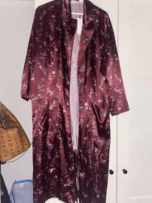 Mango Blouse Jacket purple