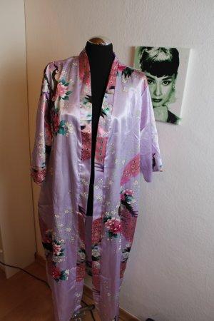 Kimono grey lilac-mauve