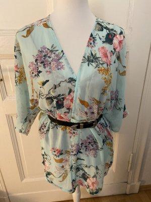 H&M Divided Kimono Blouse multicolored polyester