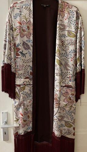 Zara Outerwear Chemisier kimono multicolore