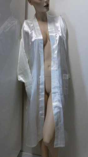 Dressing Gown white polyester