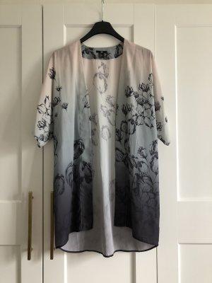 Kimono Pastell beige Blumen H&M