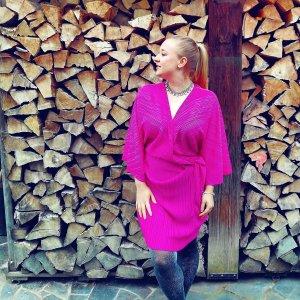 Nelly Sukienka różowy-magenta