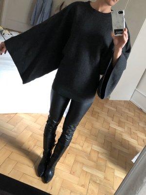 COS Kimono Sweater anthracite-dark grey
