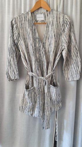 Selected Femme Kimono Blouse silver-colored-oatmeal viscose