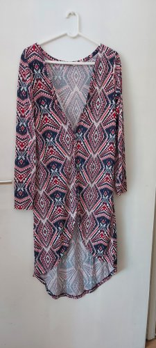 eka Kimono blouse staalblauw