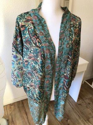 Kimono, türkis, elegant