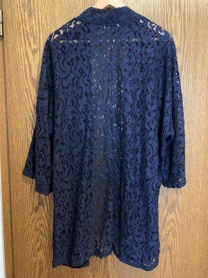 H&M Kimono ciemnoniebieski