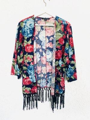 Kimono von Love Culture mit Blumenmuster Gr. M