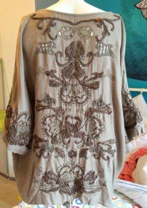 Pull & Bear Kimono Blouse olive green-khaki