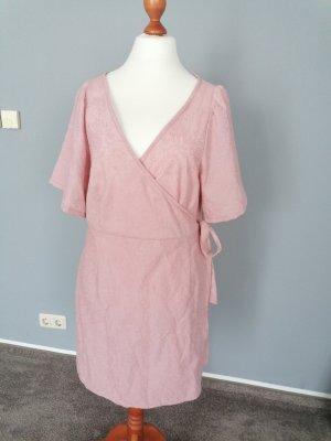 Handarbeit Kopertowa sukienka różany