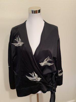 Zara Wraparound Jacket black