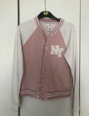 H&M College Jacket pink-dusky pink