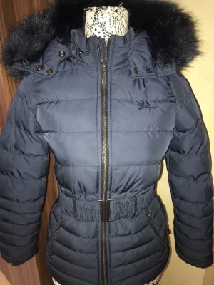 Cars Jeans Winterjack donkerblauw