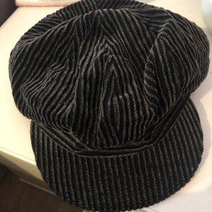 Döll Cappello da panettiere nero-grigio Cotone