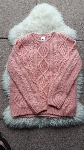 C&A Crochet Sweater rose-gold-coloured