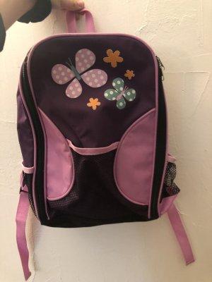Mochila de guardería púrpura-rosa