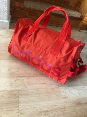 Adidas Sporttas oranje-neonoranje