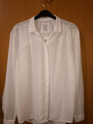 C&A Long Sleeve Blouse white