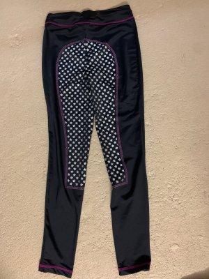 equilibre Pantalone da equitazione nero-argento