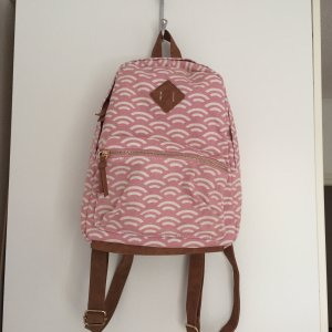 Kindergarden Backpack white-pink