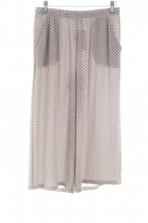 King Kong Pantalone culotte stampa integrale stile casual