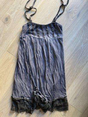 King Kong Kleid Strandkleid aus Seide und Baumwolle Gr. S