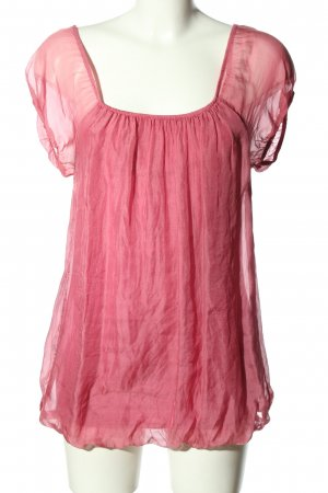 King Kong Schlupf-Bluse pink Casual-Look