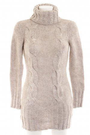 King Kong Strickpullover creme meliert Casual-Look