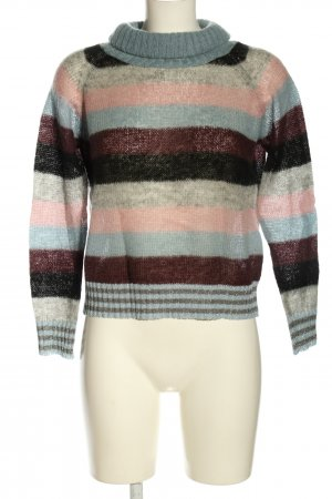 King Kong Strickpullover Streifenmuster Casual-Look