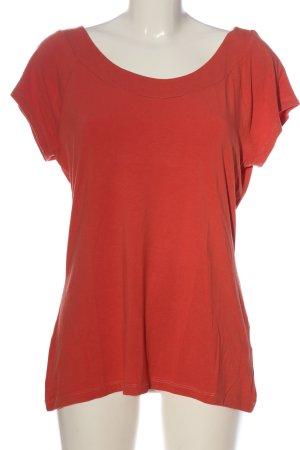 King Loui Boothalsshirt rood casual uitstraling