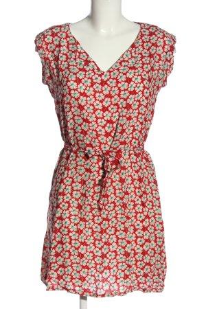 King louie A-Linien Kleid Allover-Druck Casual-Look