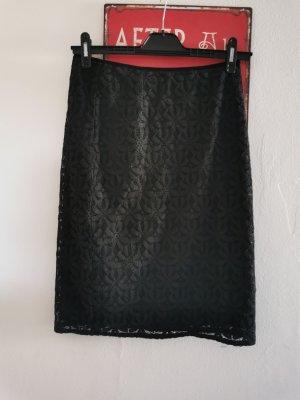King louie Lace Skirt black cotton