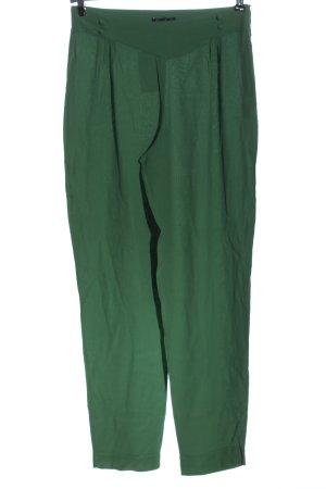 King louie Pantalone a vita alta verde stampa integrale stile casual