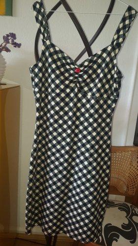 King louie Pencil Dress black-cream cotton