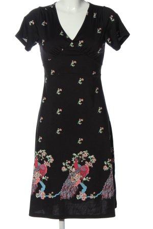 King louie Shortsleeve Dress allover print casual look