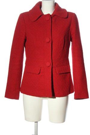 King louie Cappotto corto rosso stile casual