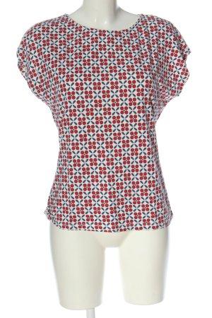 King louie Short Sleeved Blouse allover print elegant