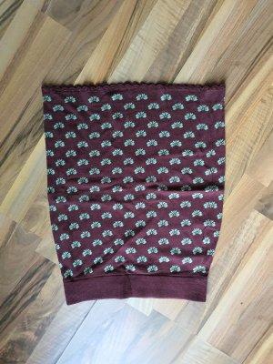 King louie Jupe tricotée brun foncé-vert menthe