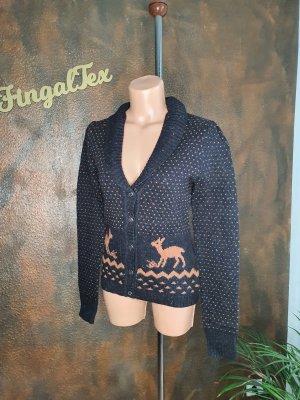 King louie Knitted Blazer black-light brown