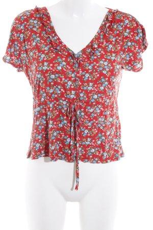 King louie T-shirt motivo floreale stile casual