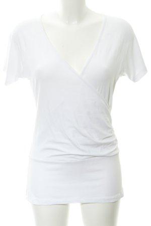King louie Camisa cruzada blanco look casual