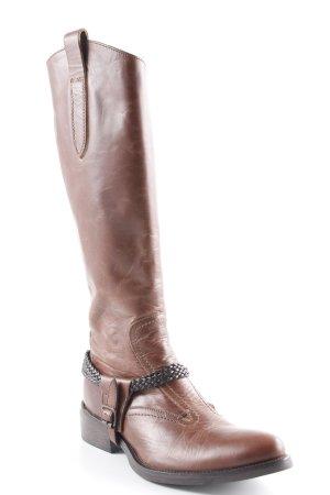 King Boots western brun style décontracté