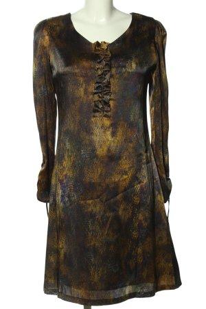 Kinga Mathe Blusenkleid abstraktes Muster Elegant