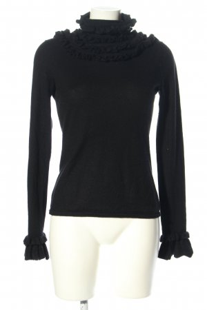Kinga Mathe Pullover in cashmere nero stile casual