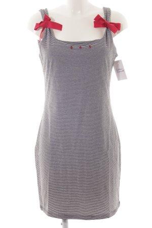 Kinga Mathe Midi Dress striped pattern casual look